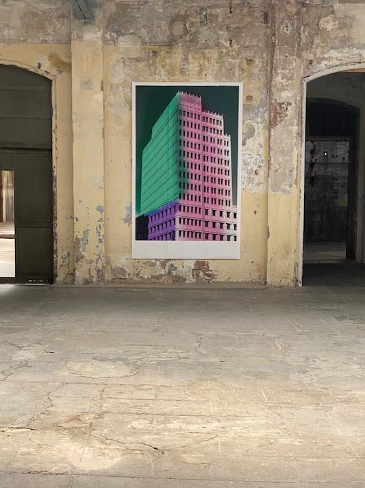 edificio colores